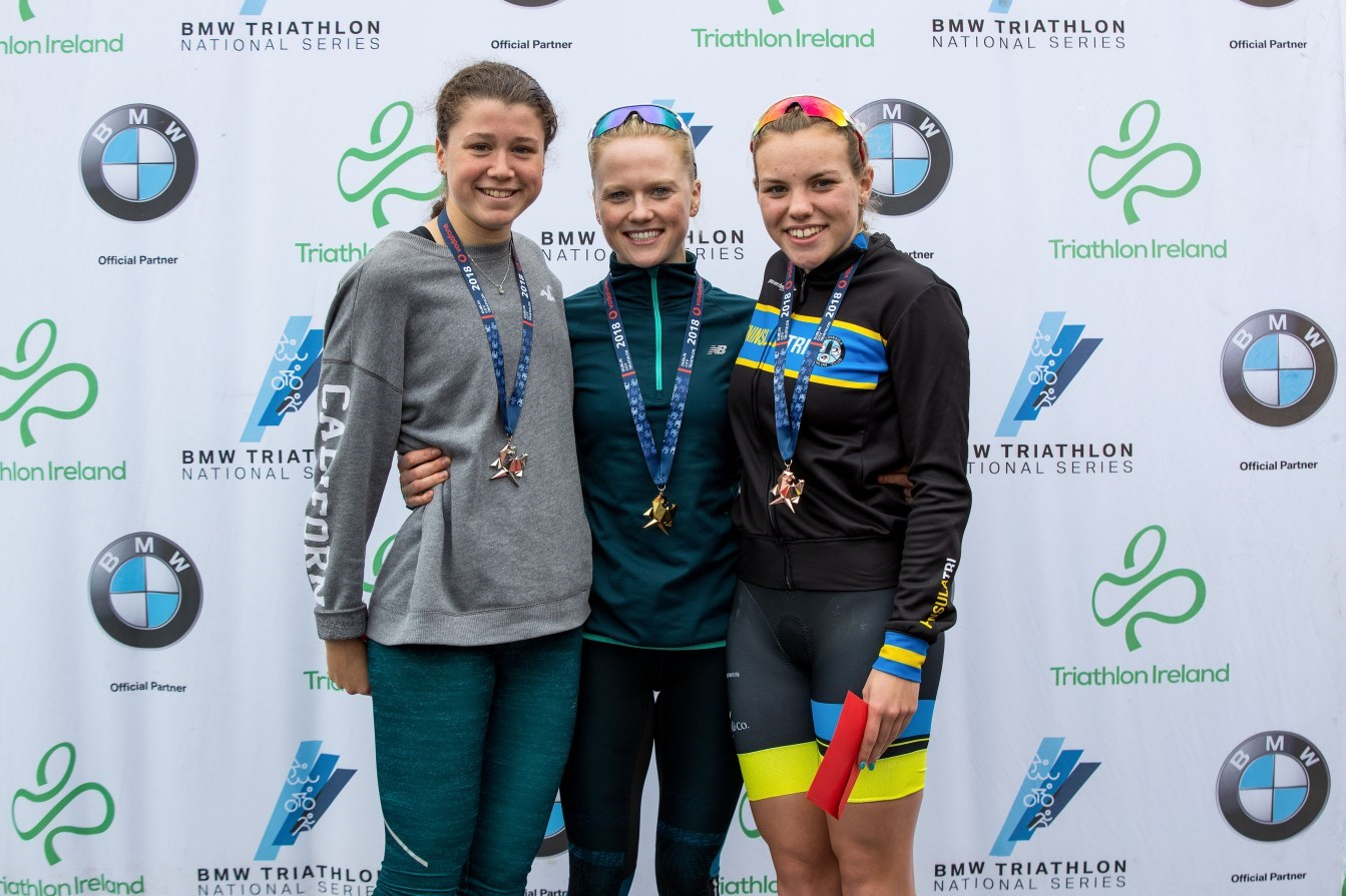 DCT Women's Super Series Podium