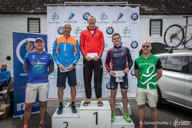 Men's Podium Presentation Mourne NS 2018