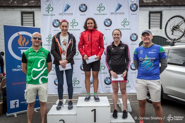 Women's Presentation Podium Mourne NS 2018