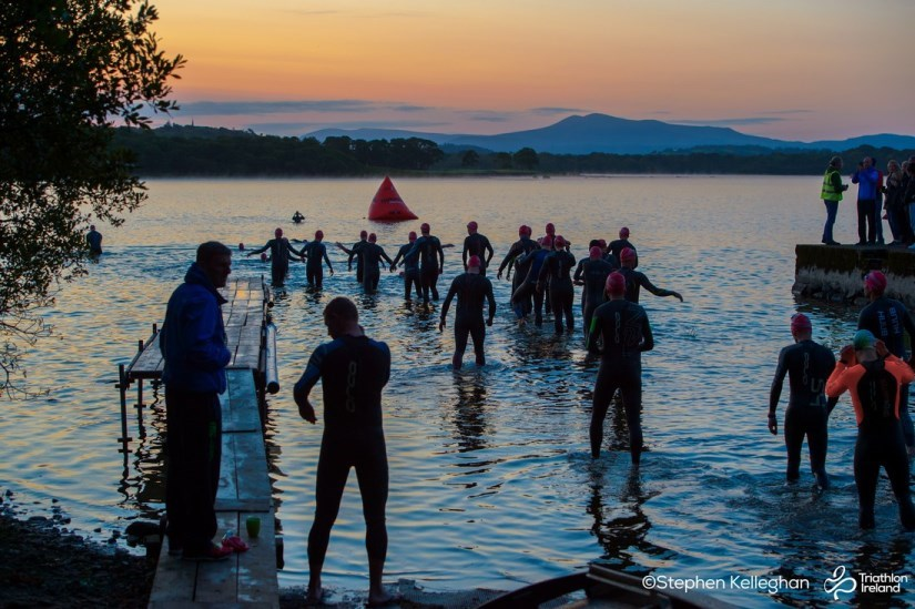 Hardman Triathlon Swim Start