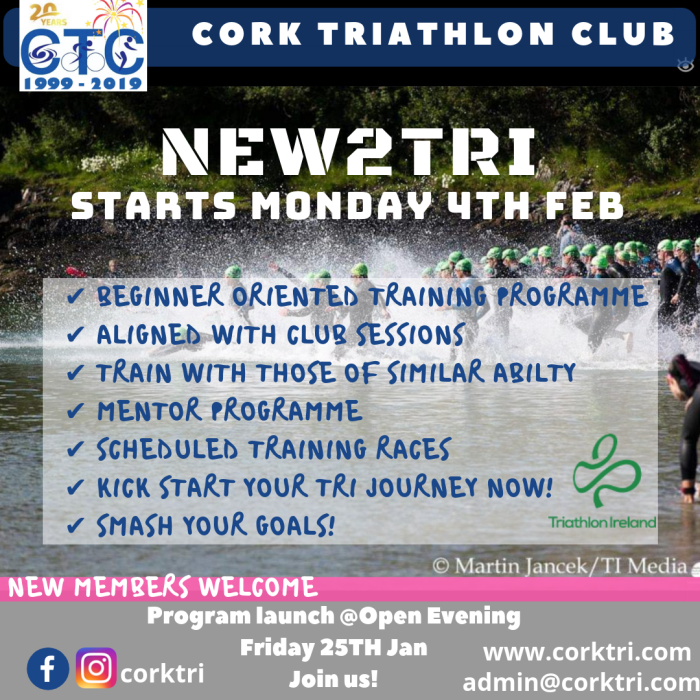 Cork Tri Club NTT 2019