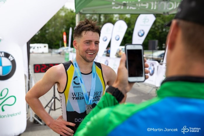 Aaron Doherty_Westport Finish Line