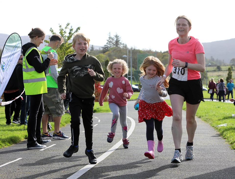 Sligo Try a Tri Family Running