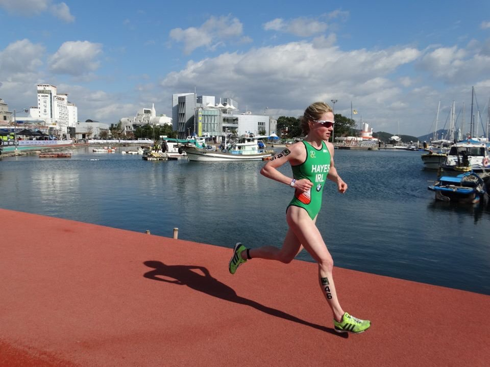 Carolyn Hayes Running Ireland Suit