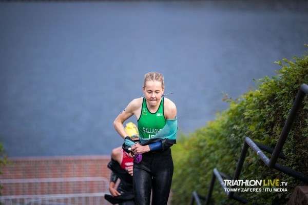 Maeve Gallagher_Swim Exit_WTS Hamburg 2020