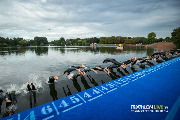 WTS Hamburg 2020 - Women's Swim Start