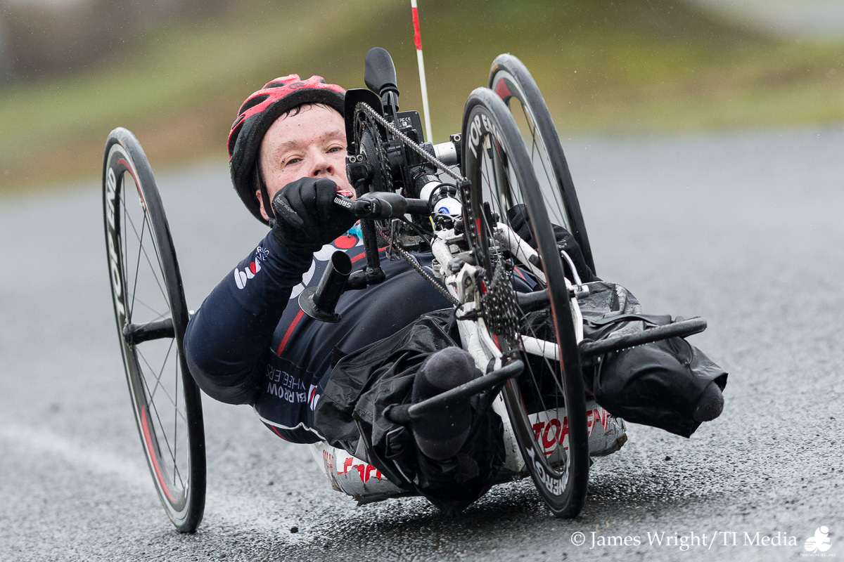 Para Triathlete at Naas Duathlon Feb